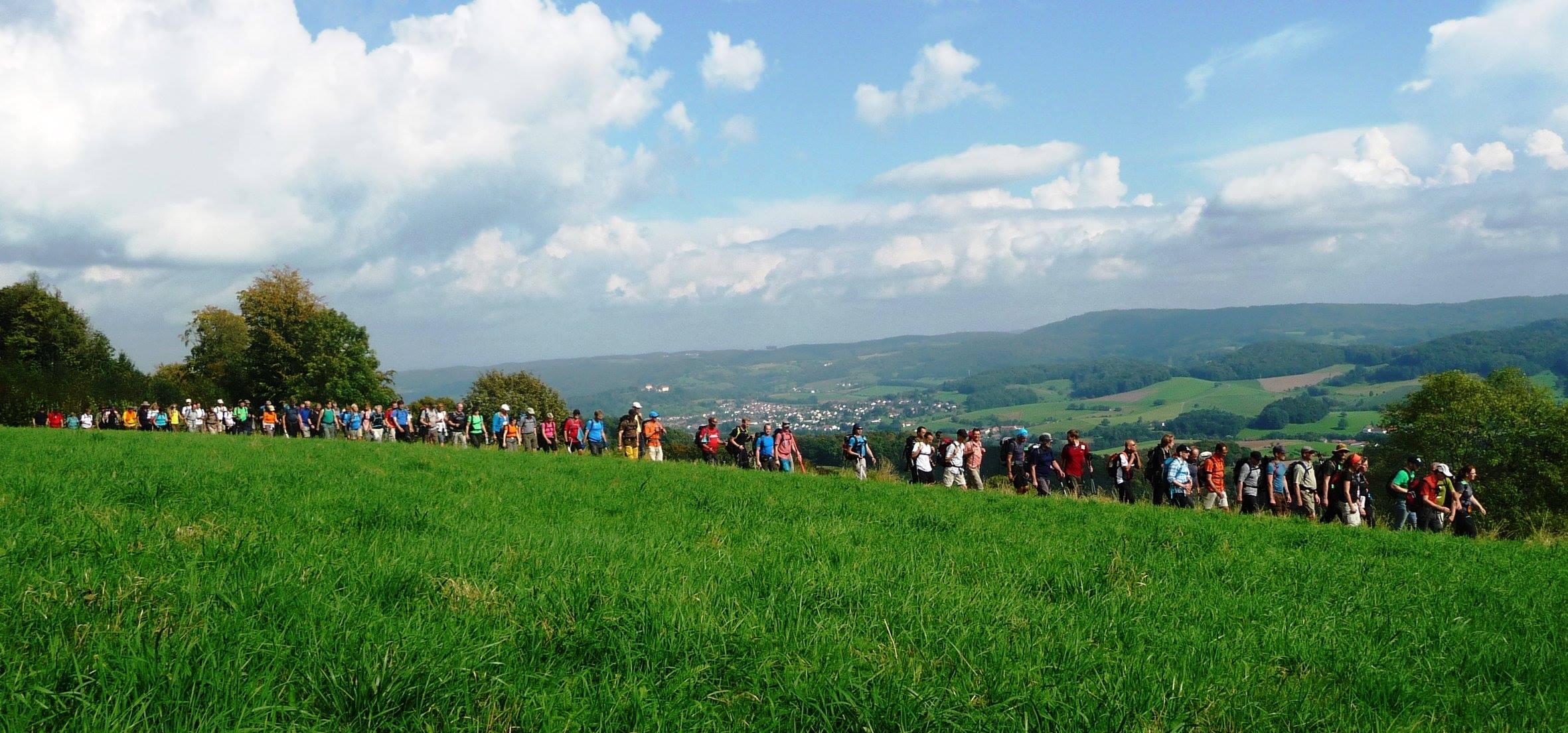 24 Stunden Wanderung Odenwald