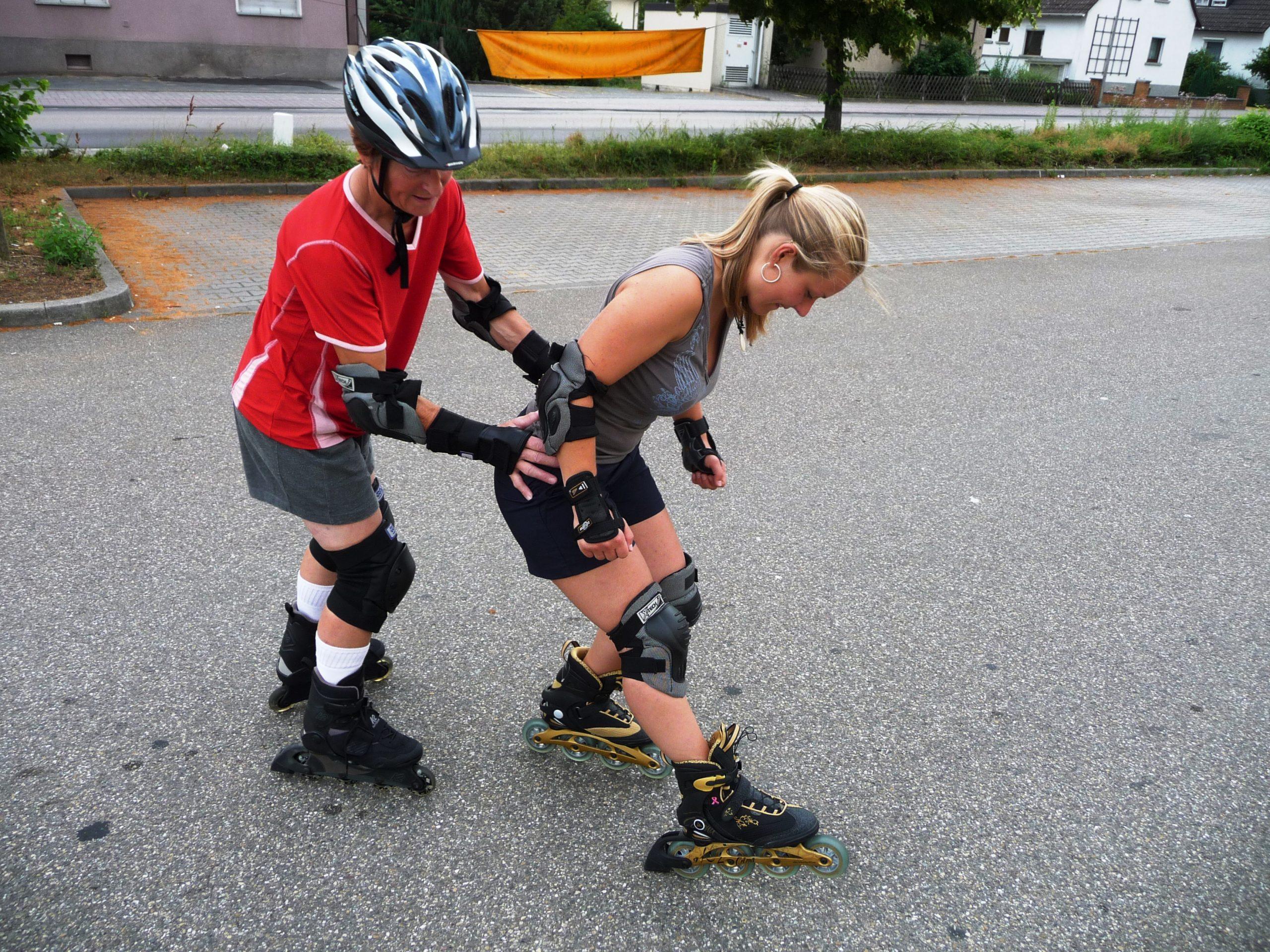 Partnerübung Bremsen