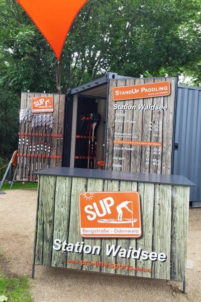 Pro line sports SUP Station Waidsee2